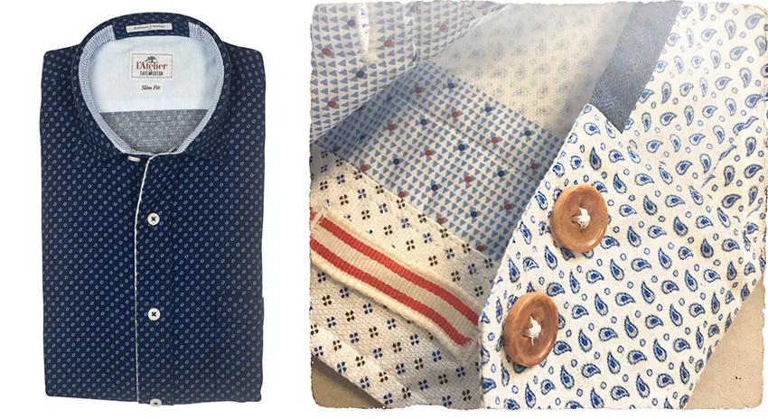Spécial Fêtes • Avec Atelier Café Coton, jouez les stylistes et créez votre chemise !