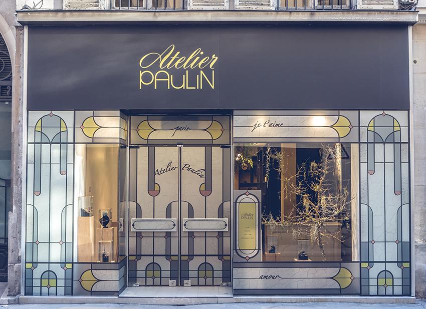 Atelier Paulin première boutique à Paris