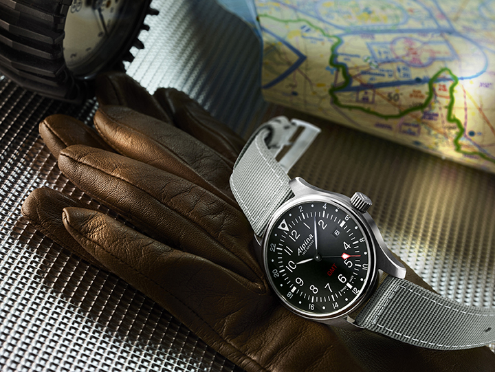 Startimer Pilot GMT