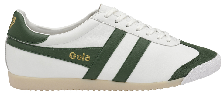 HARRIER 50 LEATHER WHT GREEN