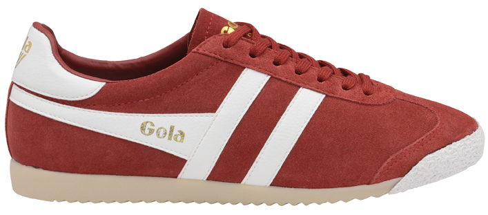 HARRIER 50 SUEDE RED WHT