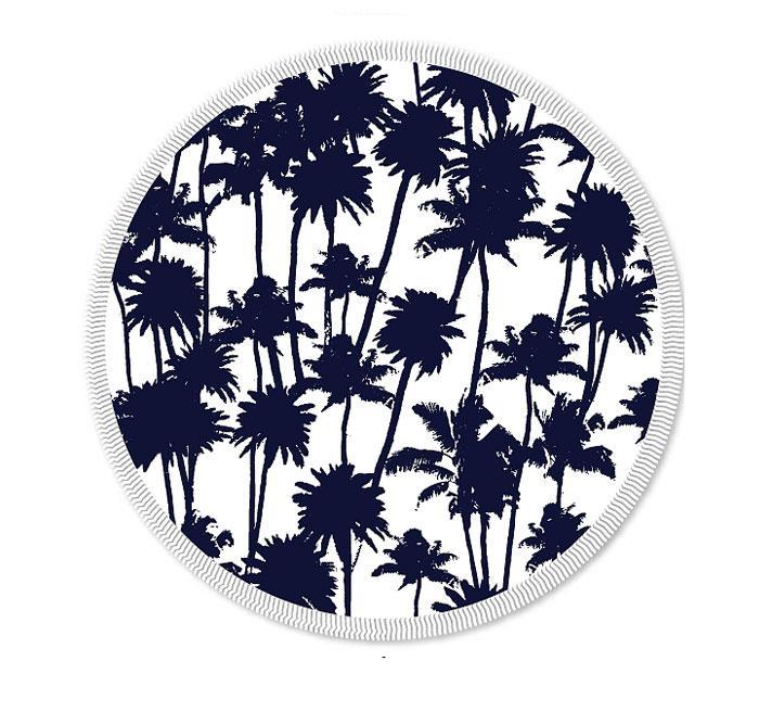 Les Antillaises, des serviettes tout en rondeur pour la plage, 80 €