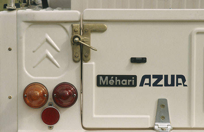 En 1987, la production de Méhari s'arrête après 19 ans d'existence.