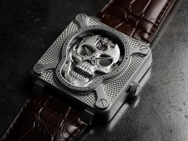 Edition limitée – BR 01 Laughing Skull, le nouveau spectre mécanique