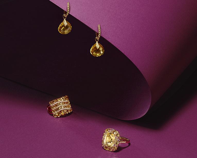 Les bijoux Isabelle Langlois, vibrant reflet du soleil