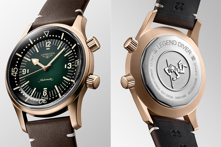 Horlogerie – The Longines Legend Diver Watch, la patine du temps