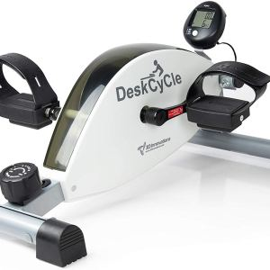 DeskCycle Desk Exercise Bike Pedal Exerciser, White ShoppingExclusives.com