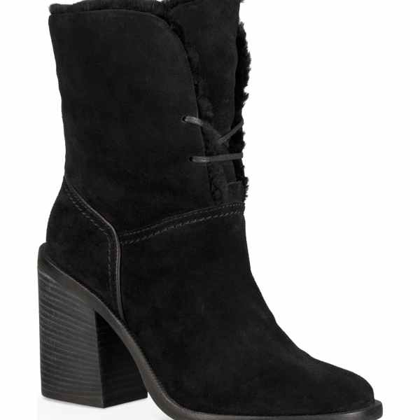 UGG Jerene Black Boots Shopping Exclusives