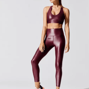 High Rise 7/8 Takara Legging Front @ShoppingExclusives.com