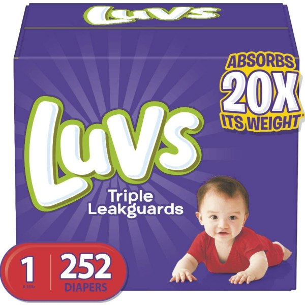 Luvs Ultra Leakguards Disposable Baby Diapers Shopping Exclusives