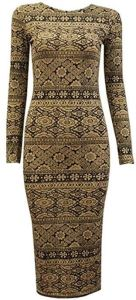 Aztec Beige Dress for 12 Dollars