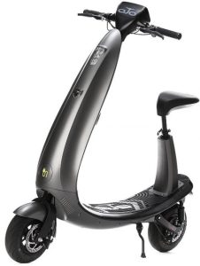 The OjO Electric Scooter in Black, designed for real world adult use that's still fun