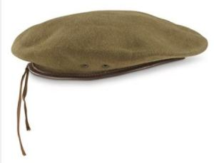 Belgian Military Berets in Wool with Leather Trim from Sportsmans Guide. Not the best product photos, but these are authentic. Ladies FYI: For the best fitting military surplus for women, try the French and Belgian gear....