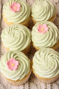 The Cottage Bakeshop Vanilla Bean Cupcakes are perfect