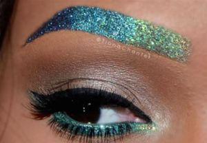Ombre Oceanic Metallic Look Using Mixed Colors by @TianaChantel.
