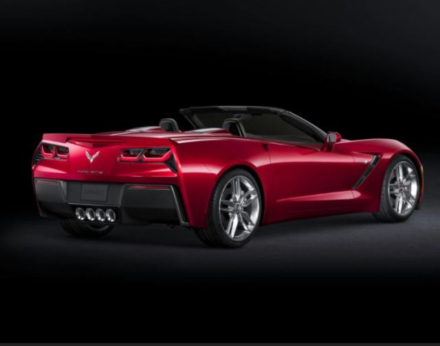 A nice red convertible Corvette Stingray is always in fashion