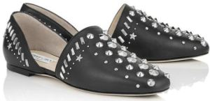 Globe Flat with Great Studded Embellishments by Jimmy Choo