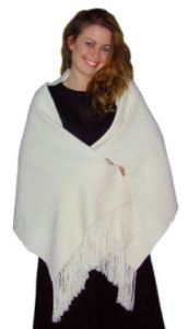 Seriously-A Handwoven Bolivian Alpaca Shawl For Only 39 Dollars You Can Embellish Into A Masterpiece.
