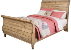 A different take on a sleigh bed can go cottagey, rustic, and several other theme directions. ColemanFurniture.Com