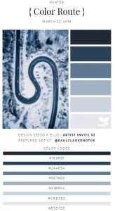 Another example from Design Seeds showing a deeper, more monochromatic palette that would be great for creating a relaxing bedroom environment. Design-Seeds.Com