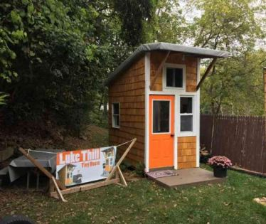 And you thought your van was tiny. Be shamed by the 13 year old kid who built this tiny house for 1500 dollars. TinyHouseFrance.org