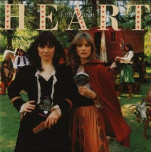 Ann and Nancy show us how Gypsy Life is done. Iconic rock band Heart album art for Little Queen