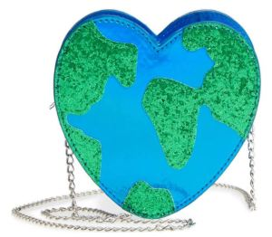 Love your planet with this timely hip Heart Earth crossbody by Capelli New York. Nordstrom.com.
