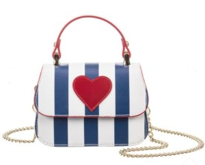 Patriotic Monnalisa Girl's handbag is perfect for summer. ChildrenSalon.com.