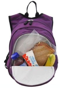 The Obersee. No need to carry a separate lunch box or cooler.
