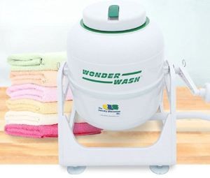 The Wonder Wash will even fold your towels for you. Okay no, not really.