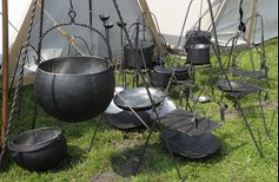 You probably do not need this many pots for your gypsy wagon