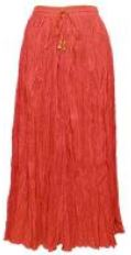In a great Poppy Red color (or your choice of many colors and prints), this skirt features that thing rarely found in women's apparel--a convenient pocket on the right hip. TravelClothingAndApparel.com.