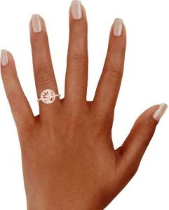 If you are torn between having a stunning, or a subtle, engagement ring, get both in the Waverly. BrilliantEarth.com.