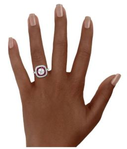 """We at ShoppingGirl.com love everything about the BrilliantEarth.com website but, in particular, we adore the """"On-The-Hand"""" feature."""