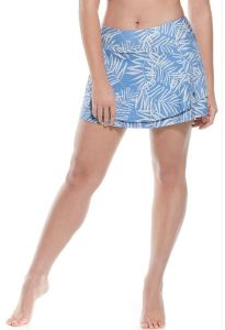 Skort sensibly includes a mesh pocket and, like all of coolibar's awesome swimwear, features fabric that is saltwater and chlorine resistant and offers UPF 50+ Sun protection. The skort comes in several cute colors. coolibar.com.