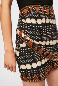 So nice we posted it twice.... The Talk of the Town Mini also comes in a Black & Natural Tribal print with brown embroidery. Same design as the Indigo one, but it has a totally different vibe that is great for outdoorsy Summer adventures. Freepeople.com.