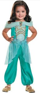 A great Princessy costume that is still easy for kids to move around in matters when you are going to a Harvest Festival, Pumpkin Patch, Carnival, or Theme Park. This pretty Girl's Jasmine Costume can be the basis of a wide variety of other costumes, including a Superheroic Princess of her own imagining. orientaltrading.com.