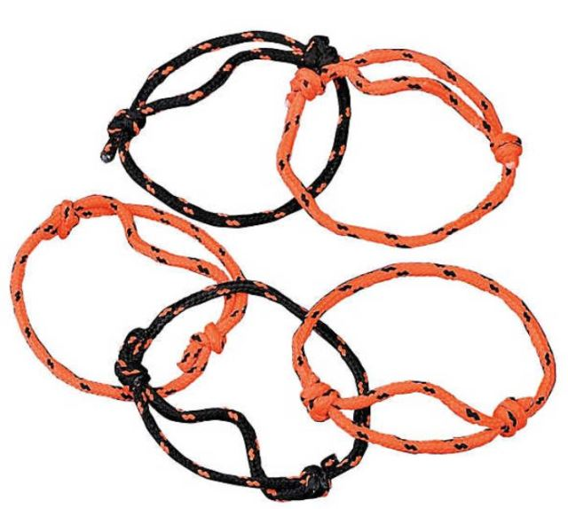 For an affordable option, consider these Halloween Friendship Rope Bracelets. Kids love them, and can add them to their collection of friendship bracelets to wear all year long. They are adjustable to fit kids of different ages, or perhaps to secure a super-secret scroll map to buried treasure. Even better, you get a set of 72 bracelets for only $5.99! orientaltrading.com.