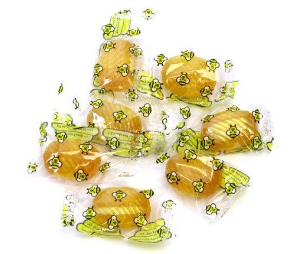 Fun for Harvest Festival and Insect themed parties and treat bags, Double Honey Filled Candies are individually wrapped and come in bulk packages. oldtimecandy.com