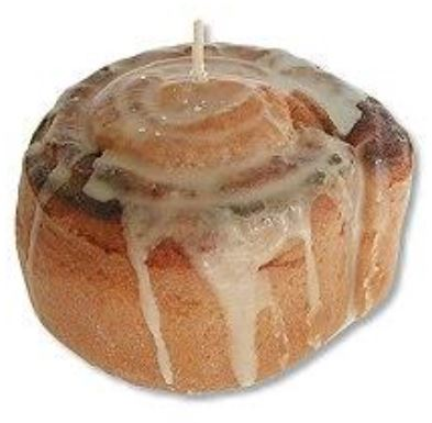 Torment already-starving guests by burning this Cinnamon Roll Candle all day long while dinner's cooking. craftedcandles.com