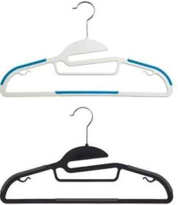 All-In-One Hangers garner rave reviews for being truly reliable and useful. Containerstore.com.