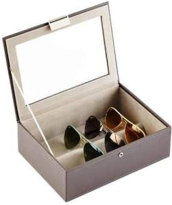Classic Stackers Lidded Eyewear Storage Box. Containerstore.com.