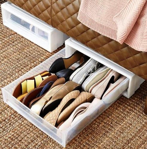 Under Bed Drawers. Containerstore.com.