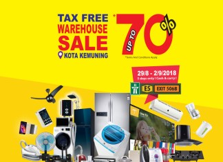 HLK Warehouse Sale 2018