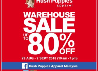 Hush Puppies Warehouse Sales