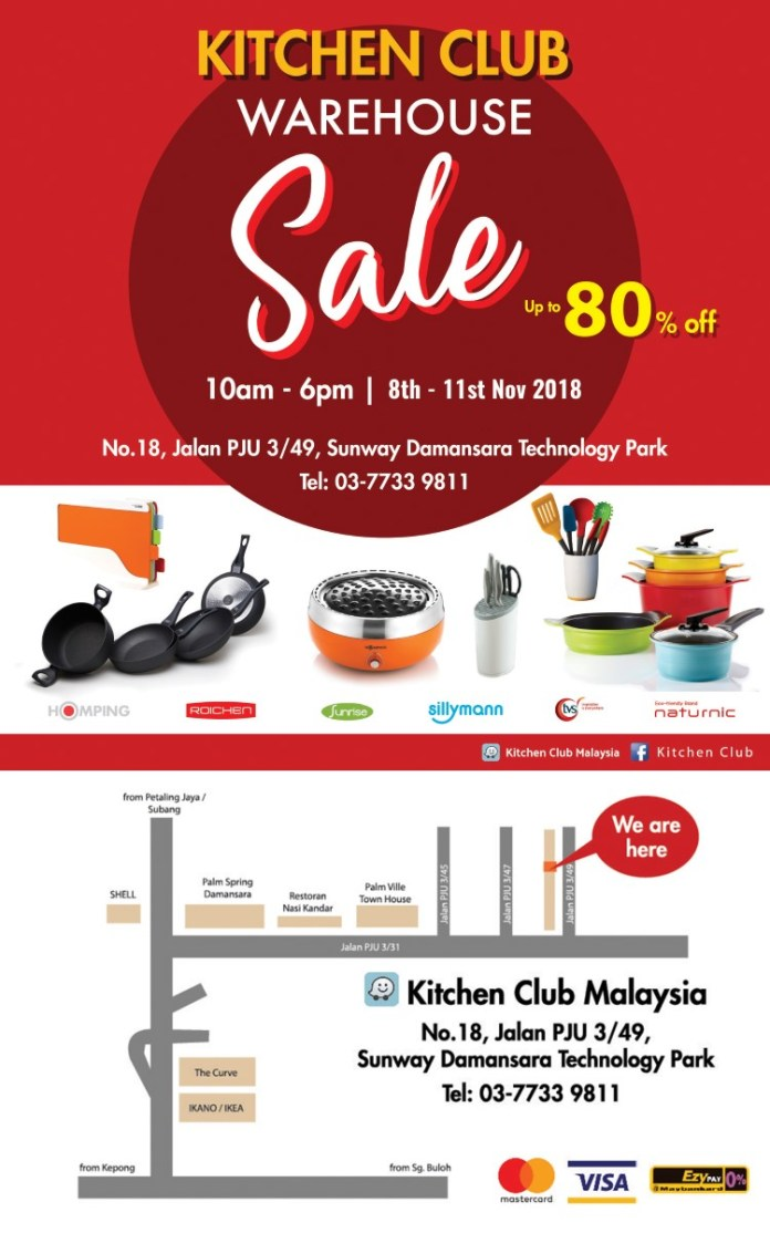 Kitchen Club Warehouse Sale