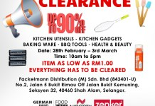 FACKELMANN Warehouse Sales Event