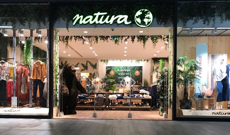 Natura reabre no Cascaisshopping com novo conceito