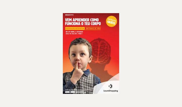 LoureShopping desafia crianças a saberem mais sobre o Corpo Humano