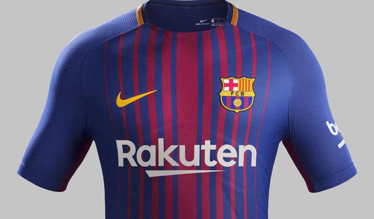 Nike apresenta equipamento principal do FC Barcelona 2017-2018